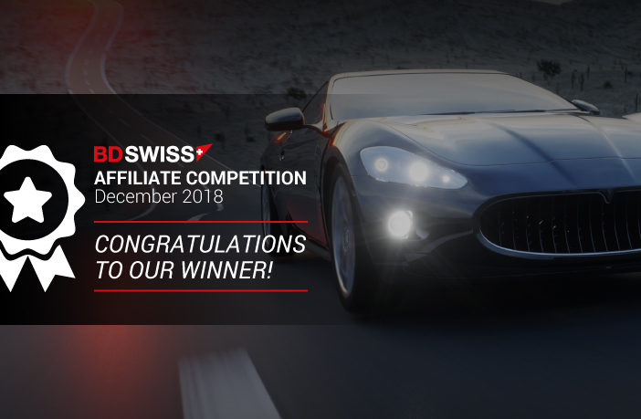 Congratulations to the BDSwiss Affiliate Competition Winner!